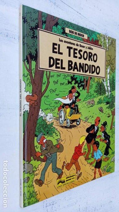 Cómics: BOB DE MOOR - LAS AVENTURAS DE OSCAR Y JULIAN NºS 1 Y 2 - NUEVOS 1ª EDICIÓN 1988 GRIJALBO - Foto 11 - 211515336