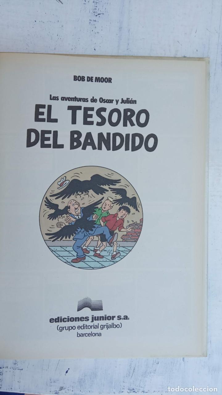 Cómics: BOB DE MOOR - LAS AVENTURAS DE OSCAR Y JULIAN NºS 1 Y 2 - NUEVOS 1ª EDICIÓN 1988 GRIJALBO - Foto 18 - 211515336