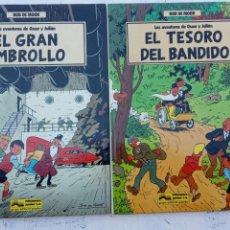 Cómics: BOB DE MOOR - LAS AVENTURAS DE OSCAR Y JULIAN NºS 1 Y 2 - NUEVOS 1ª EDICIÓN 1988 GRIJALBO. Lote 211515336
