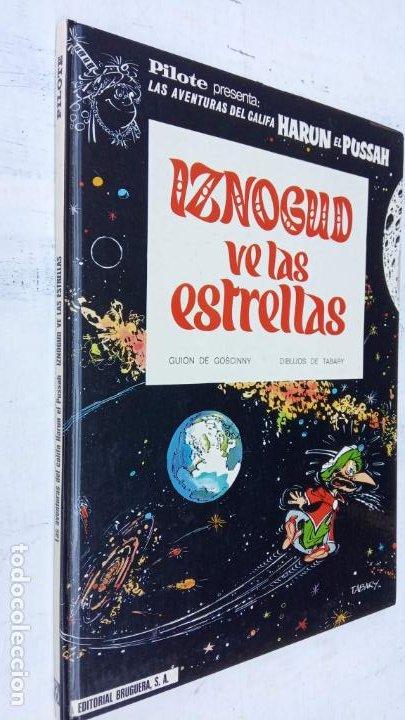 Cómics: PILOTE BRUGUERA 1971 - IZNOGUD VE LAS ESTRELLAS - LAS AVENTURAS DEL CALIFA HARUN EL PUSSHA - - Foto 2 - 211515750