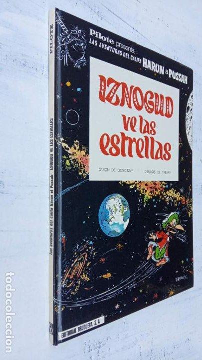 Cómics: PILOTE BRUGUERA 1971 - IZNOGUD VE LAS ESTRELLAS - LAS AVENTURAS DEL CALIFA HARUN EL PUSSHA - - Foto 3 - 211515750