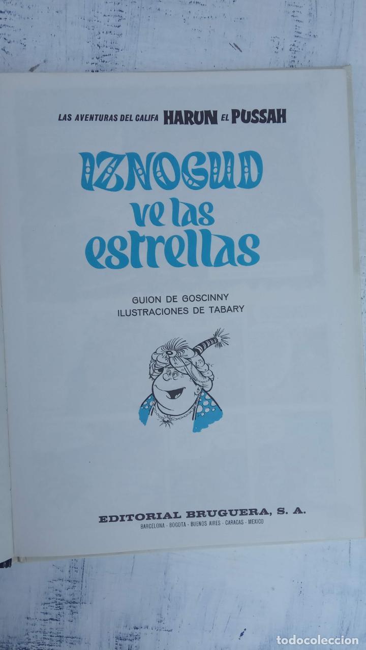 Cómics: PILOTE BRUGUERA 1971 - IZNOGUD VE LAS ESTRELLAS - LAS AVENTURAS DEL CALIFA HARUN EL PUSSHA - - Foto 4 - 211515750