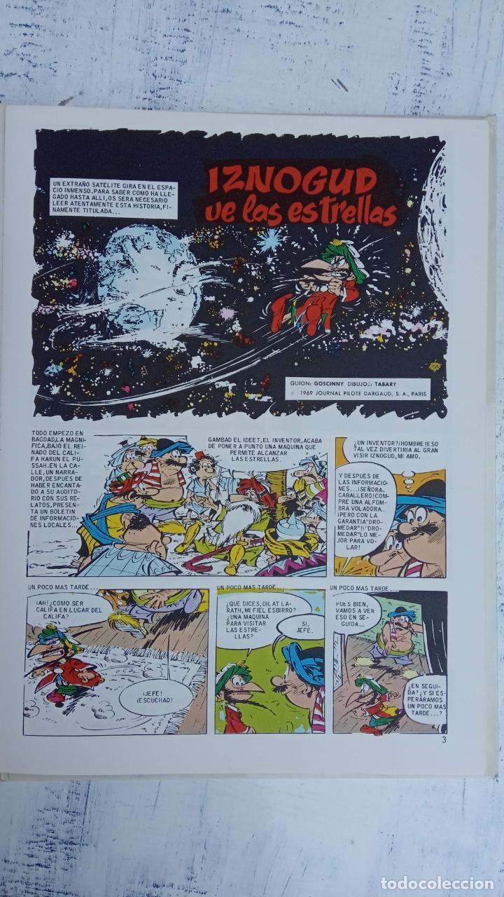 Cómics: PILOTE BRUGUERA 1971 - IZNOGUD VE LAS ESTRELLAS - LAS AVENTURAS DEL CALIFA HARUN EL PUSSHA - - Foto 7 - 211515750