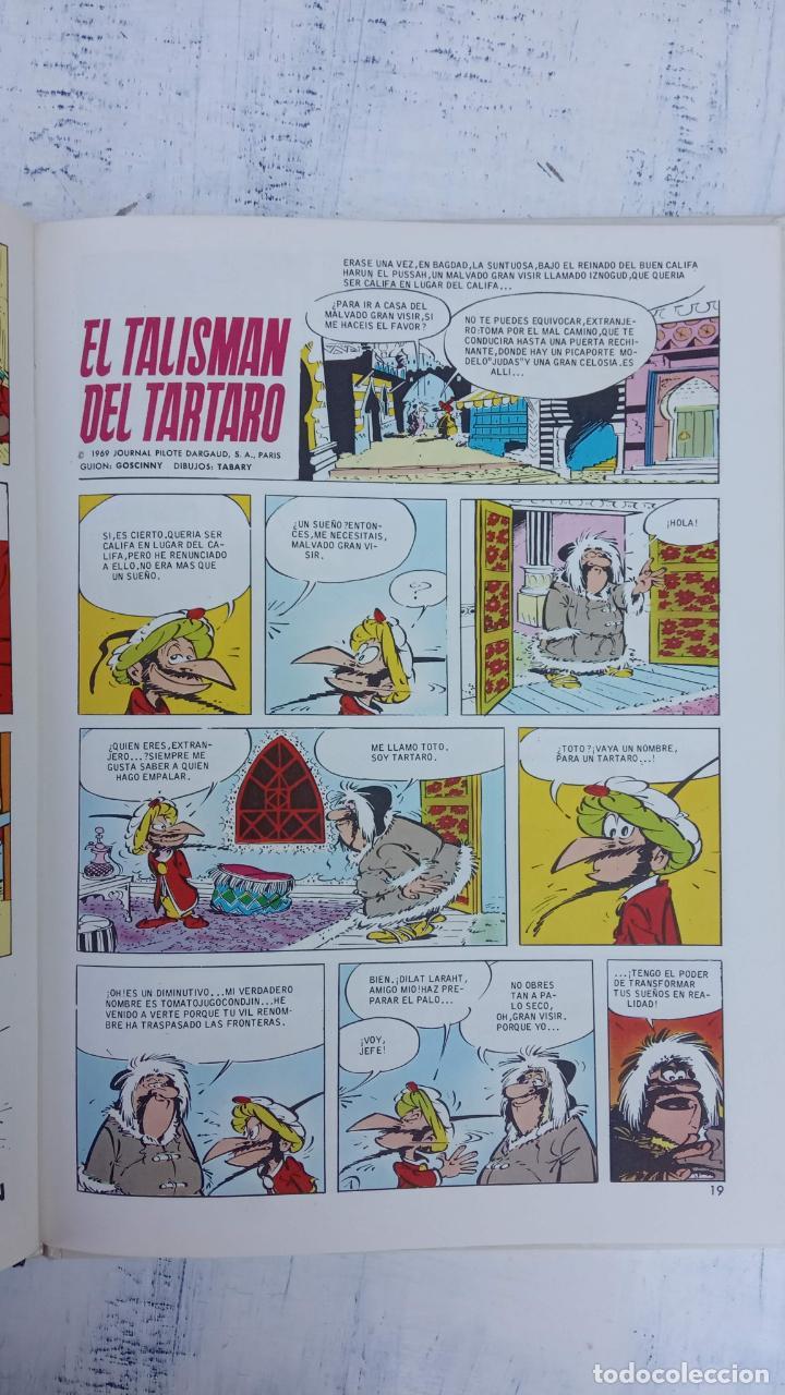 Cómics: PILOTE BRUGUERA 1971 - IZNOGUD VE LAS ESTRELLAS - LAS AVENTURAS DEL CALIFA HARUN EL PUSSHA - - Foto 8 - 211515750