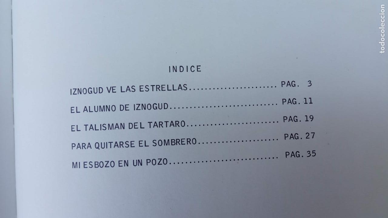 Cómics: PILOTE BRUGUERA 1971 - IZNOGUD VE LAS ESTRELLAS - LAS AVENTURAS DEL CALIFA HARUN EL PUSSHA - - Foto 11 - 211515750