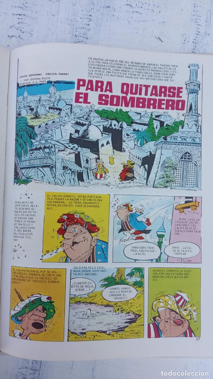 Cómics: PILOTE BRUGUERA 1971 - IZNOGUD VE LAS ESTRELLAS - LAS AVENTURAS DEL CALIFA HARUN EL PUSSHA - - Foto 16 - 211515750