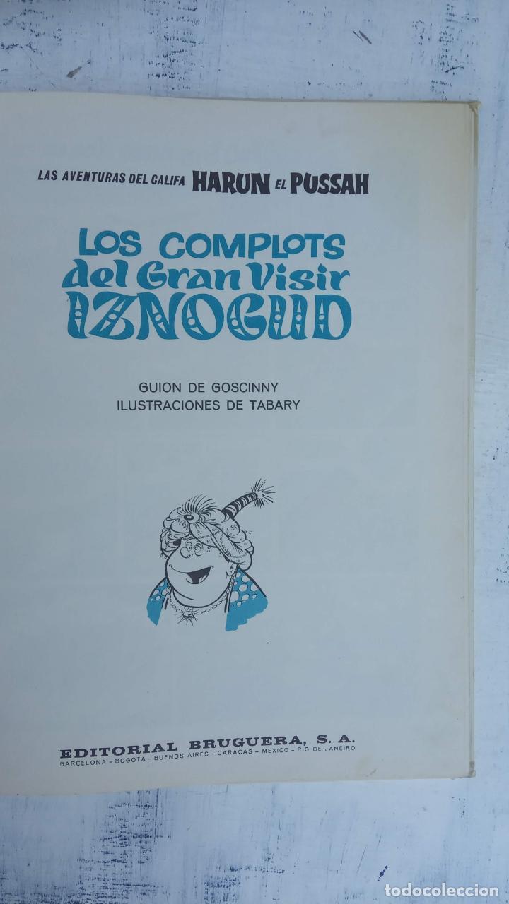 Cómics: PILOTE BRUGUERA 1970 - LOS COMPLOTS DEL GRAN VISIR IZNOGUD -LAS AVENTURAS DEL CALIFA HARUN EL PUSSHA - Foto 4 - 211515934