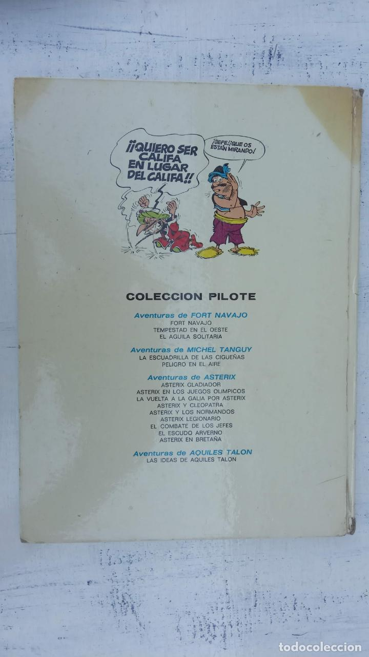 Cómics: PILOTE BRUGUERA 1970 - LOS COMPLOTS DEL GRAN VISIR IZNOGUD -LAS AVENTURAS DEL CALIFA HARUN EL PUSSHA - Foto 5 - 211515934