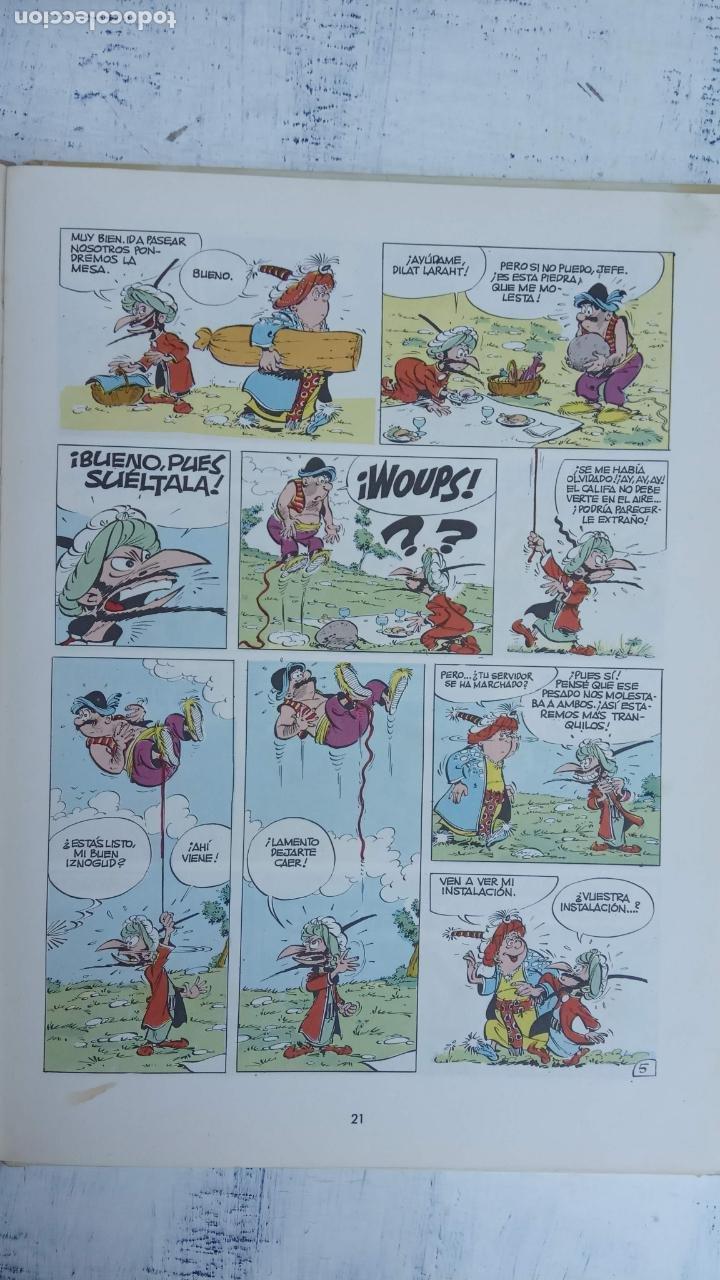 Cómics: PILOTE BRUGUERA 1970 - LOS COMPLOTS DEL GRAN VISIR IZNOGUD -LAS AVENTURAS DEL CALIFA HARUN EL PUSSHA - Foto 12 - 211515934