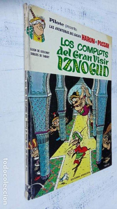 PILOTE BRUGUERA 1970 - LOS COMPLOTS DEL GRAN VISIR IZNOGUD -LAS AVENTURAS DEL CALIFA HARUN EL PUSSHA (Tebeos y Comics - Grijalbo - Iznogoud)
