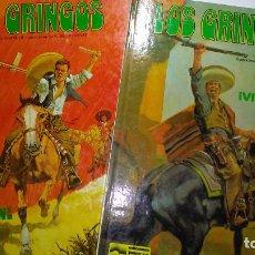 Cómics: * LOS GRINGOS. ¡¡COMPLETA!!. 2 TOMO ( 1 Y 2) * J.M. CHARLIER / V. FUENTE * JUNIOR/GRIJALBO 1980 *. Lote 211516000