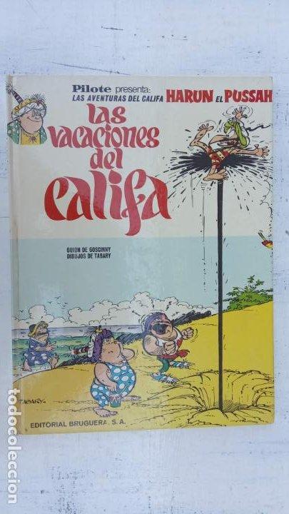 Cómics: PILOTE BRUGUERA 1971 - IZNOGUD - LAS VACACIONES DEL CALIFA -LAS AVENTURAS DEL CALIFA HARUN EL PUSSAH - Foto 2 - 211516191