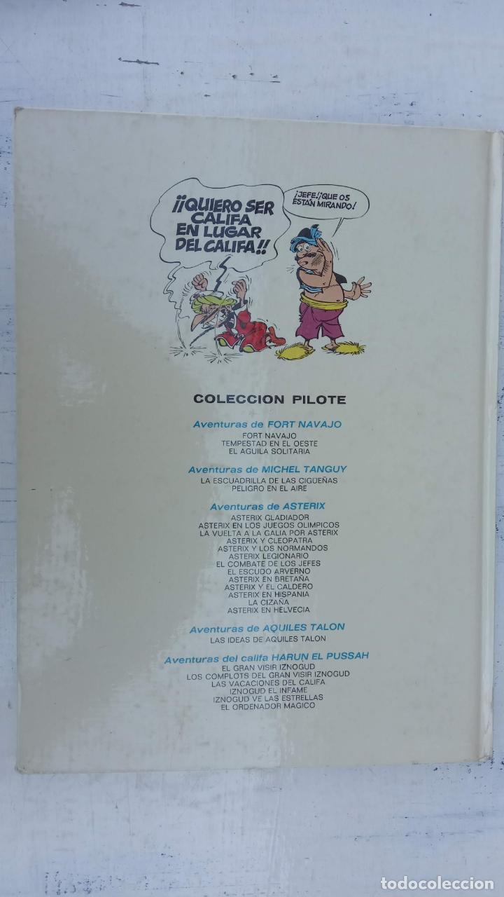 Cómics: PILOTE BRUGUERA 1971 - IZNOGUD - LAS VACACIONES DEL CALIFA -LAS AVENTURAS DEL CALIFA HARUN EL PUSSAH - Foto 3 - 211516191