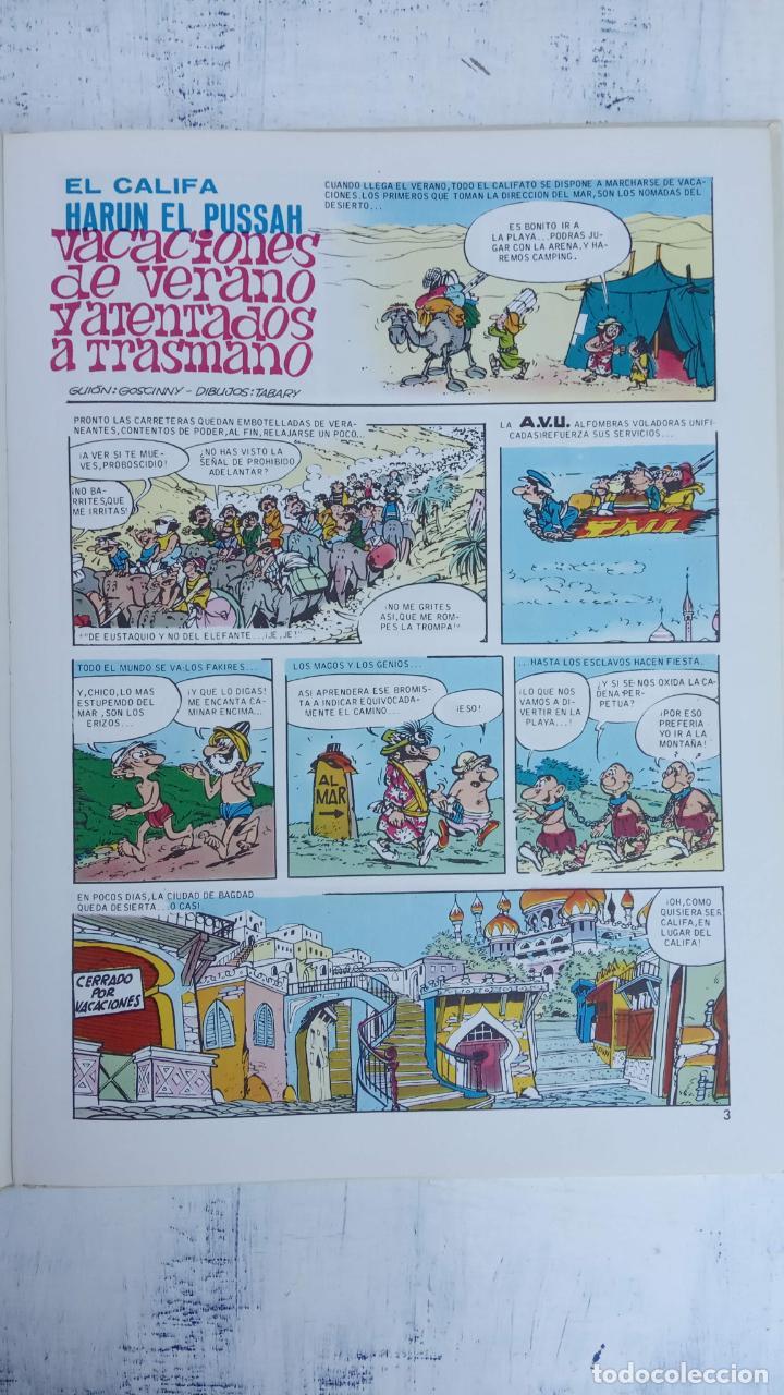 Cómics: PILOTE BRUGUERA 1971 - IZNOGUD - LAS VACACIONES DEL CALIFA -LAS AVENTURAS DEL CALIFA HARUN EL PUSSAH - Foto 7 - 211516191
