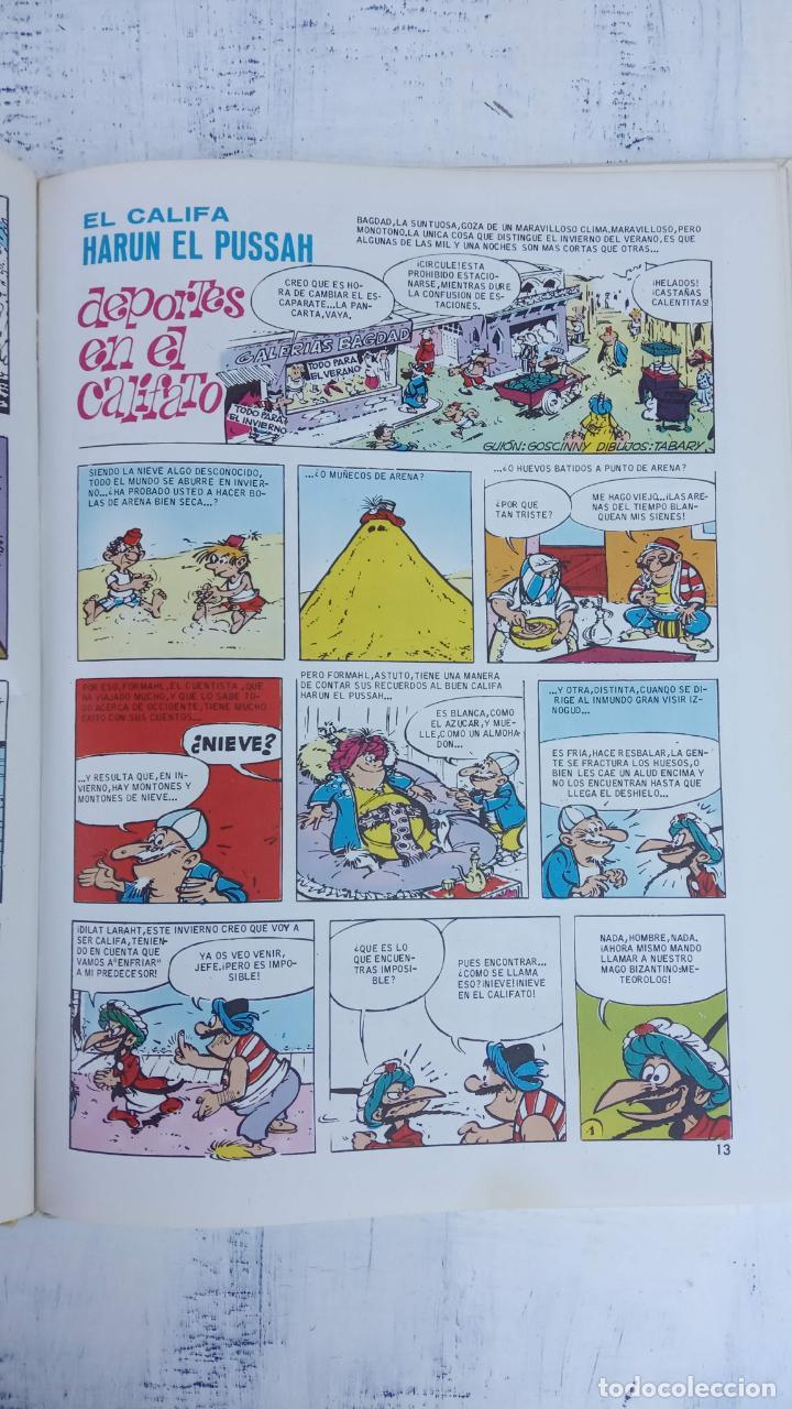 Cómics: PILOTE BRUGUERA 1971 - IZNOGUD - LAS VACACIONES DEL CALIFA -LAS AVENTURAS DEL CALIFA HARUN EL PUSSAH - Foto 14 - 211516191