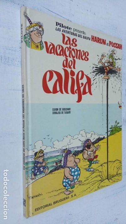 PILOTE BRUGUERA 1971 - IZNOGUD - LAS VACACIONES DEL CALIFA -LAS AVENTURAS DEL CALIFA HARUN EL PUSSAH (Tebeos y Comics - Grijalbo - Iznogoud)