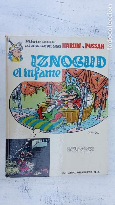 Cómics: PILOTE BRUGUERA 1971 - IZNOGUD EL INFAME - LAS AVENTURAS DEL CALIFA HARUN EL PUSSAH - TABARY - Foto 2 - 211516386