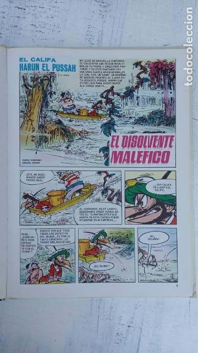 Cómics: PILOTE BRUGUERA 1971 - IZNOGUD EL INFAME - LAS AVENTURAS DEL CALIFA HARUN EL PUSSAH - TABARY - Foto 5 - 211516386