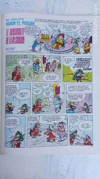 Cómics: PILOTE BRUGUERA 1971 - IZNOGUD EL INFAME - LAS AVENTURAS DEL CALIFA HARUN EL PUSSAH - TABARY - Foto 8 - 211516386