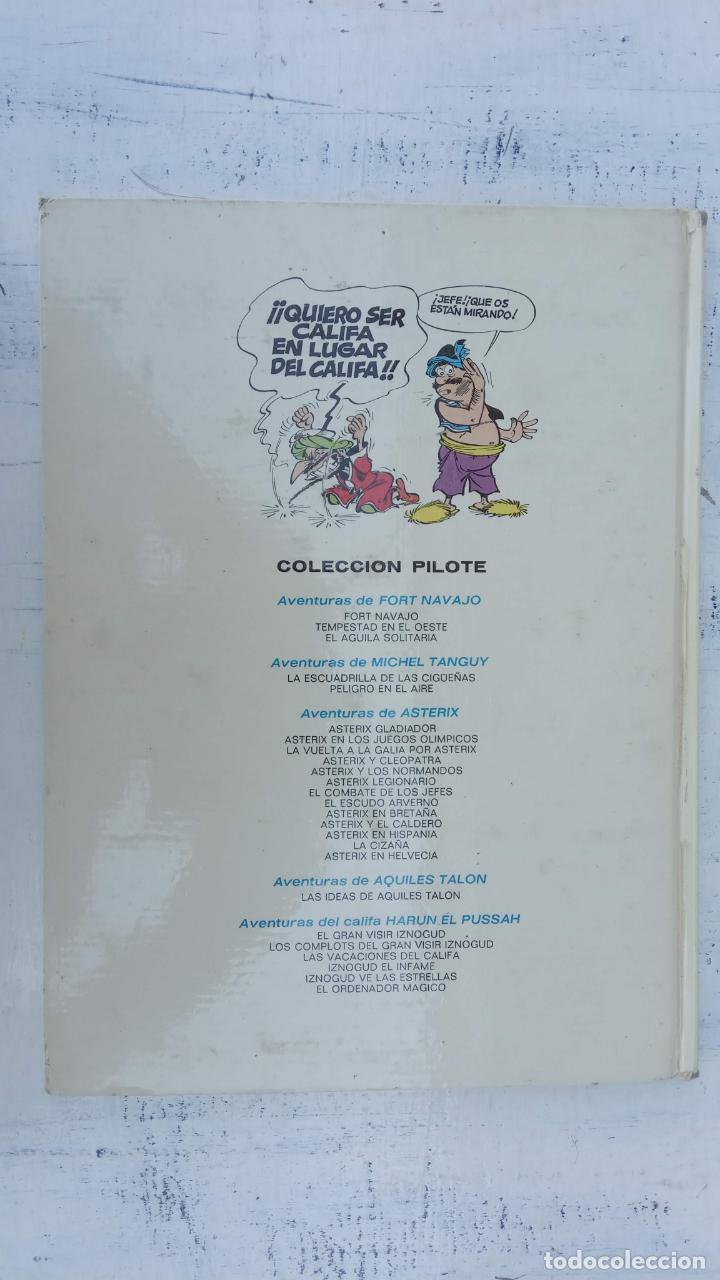 Cómics: PILOTE BRUGUERA 1971 - IZNOGUD EL INFAME - LAS AVENTURAS DEL CALIFA HARUN EL PUSSAH - TABARY - Foto 14 - 211516386
