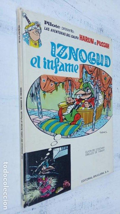 PILOTE BRUGUERA 1971 - IZNOGUD EL INFAME - LAS AVENTURAS DEL CALIFA HARUN EL PUSSAH - TABARY (Tebeos y Comics - Grijalbo - Iznogoud)