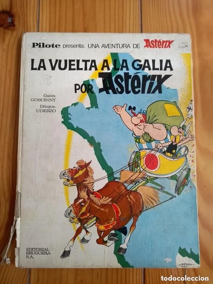 LA VUELTA A LA GALIA DE ASTÉRIX - COLECCIÓN PILOTE - VER DESCRIPCIÓN (Tebeos y Comics - Grijalbo - Asterix)