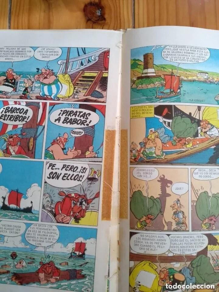 Cómics: La Vuelta a la Galia de Astérix - Colección Pilote - Ver descripción - Foto 5 - 211523774
