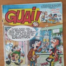 Cómics: TEBEO GUAI! Nº 1. EDICIONES JUNIOR. GRIJALBO. CHICHA, TATO Y CLODOVEO. AÑO 1986. ¡¡¡NÚMERO 1!!!. Lote 211527642
