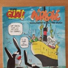 Cómics: MIRLOWE. VACACIONES EN EL MAR SALADO. RAF. COLECCIÓN TOPE GUAI Nº 14. GRIJALBO. AÑO 1986.. Lote 211527754