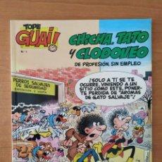 Cómics: CHICHA, TATO Y CLODOVEO. DE PROFESIÓN SIN EMPLEO. COLECCIÓN TOPE GUAI! Nº 1. GRIJALBO.. Lote 211529065