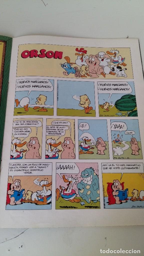 Cómics: ANTIGUO COMIC DE GARFIELD Y ODI AÑO 1978 EDC. JUIOR S.L GRIJALBO-MONDADORI ALGÚN DEFECTO VER FOTOS - Foto 10 - 211577839