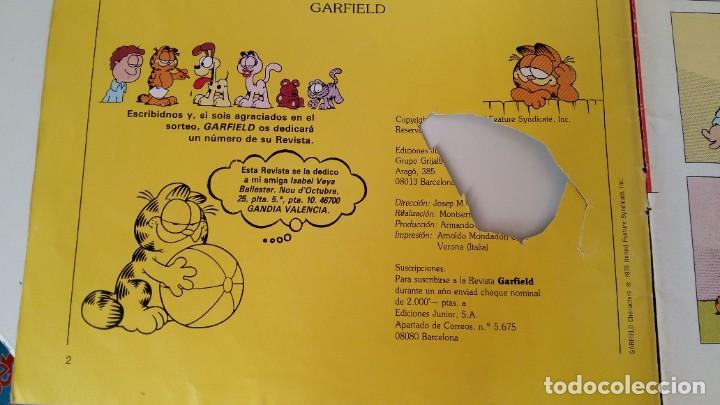 Cómics: ANTIGUO COMIC DE GARFIELD Y ODI AÑO 1978 EDC. JUIOR S.L GRIJALBO-MONDADORI ALGÚN DEFECTO VER FOTOS - Foto 12 - 211577839