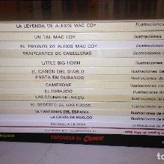 Cómics: *MAC COY * COLECCIÓN LOTE 15 TOMOS * PALACIOS Y GOURMELEN. GRIJALBO/DARGAUD/ NORMA 1978-1999 *. Lote 211616851