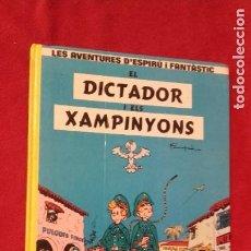 Cómics: ESPIRU I FANTASTIC 6 - EL DICTADOR I ELS XAMPINYONS - FRANQUIN - CARTONE- EN CATALAN. Lote 211629709