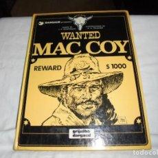 Cómics: WANTED MAC COY.-Nº 5 J.P.GOURMELEN/ILUSTRAPALACIOS.EDICIONES JUNIOR 1981. Lote 211670704