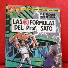 Cómics: BLAKE Y MORTIMER LAS 3 FÓRMULAS DEL PROF SATO. Lote 211996241