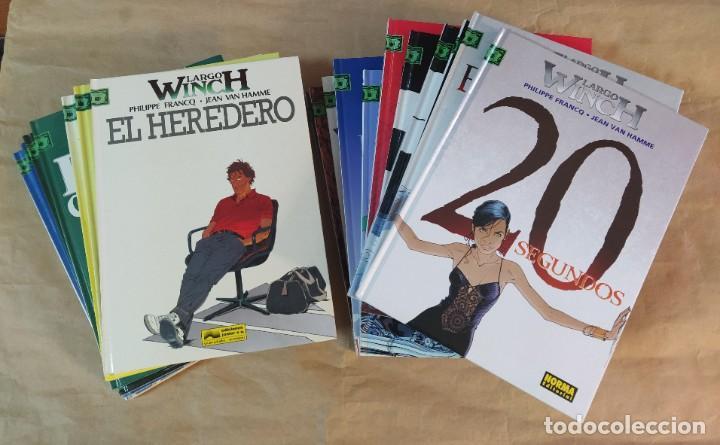 LARGO WINCH - EDICIONES JUNIOR (GRIJALBO) - NORMA EDITORIAL / NÚMEROS 1 A 20 (Tebeos y Comics - Grijalbo - Largo Winch)