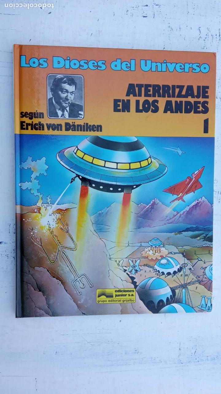 Cómics: LOS DIOSES DEL UNIVERSO Nº 1 - ATERRIZAJE EN LOS ANDES - ERICH VON DANIKEN - 1979 EDI. JUNIOR - Foto 2 - 212220872