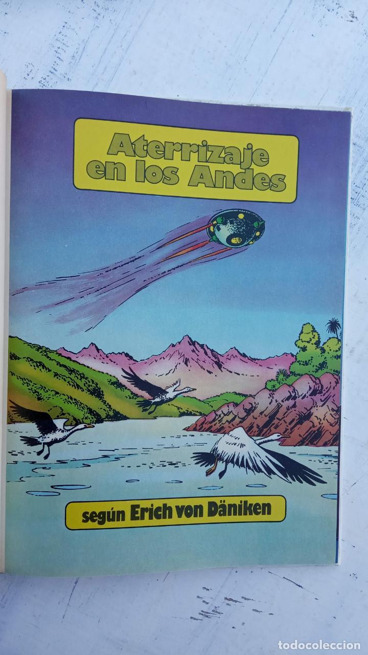 Cómics: LOS DIOSES DEL UNIVERSO Nº 1 - ATERRIZAJE EN LOS ANDES - ERICH VON DANIKEN - 1979 EDI. JUNIOR - Foto 3 - 212220872