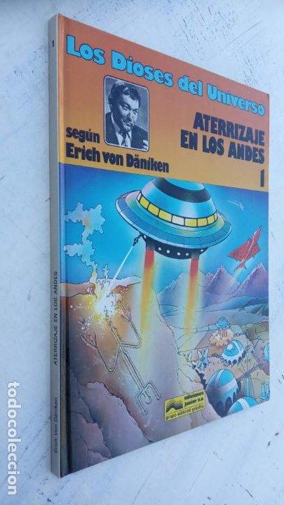LOS DIOSES DEL UNIVERSO Nº 1 - ATERRIZAJE EN LOS ANDES - ERICH VON DANIKEN - 1979 EDI. JUNIOR (Tebeos y Comics - Grijalbo - Otros)