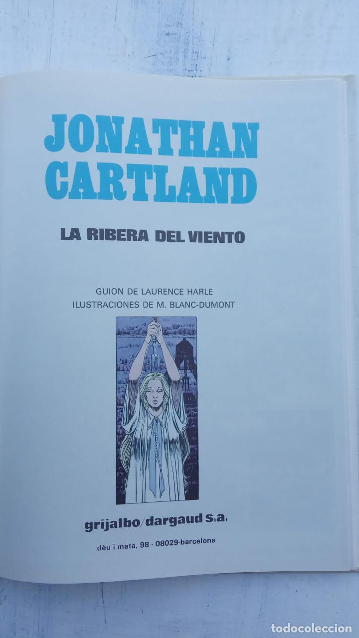 Cómics: JONATHAN CARTLAND Nº 3 - LA RIBERA DEL VIENTO - 1985 GRIJALBO - DARGAUD - NUEVO - Foto 2 - 212221777