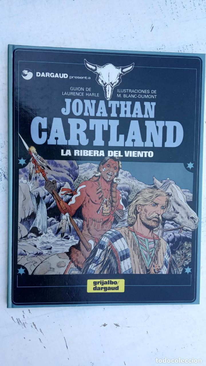 Cómics: JONATHAN CARTLAND Nº 3 - LA RIBERA DEL VIENTO - 1985 GRIJALBO - DARGAUD - NUEVO - Foto 12 - 212221777