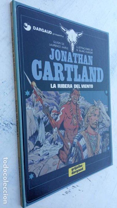 JONATHAN CARTLAND Nº 3 - LA RIBERA DEL VIENTO - 1985 GRIJALBO - DARGAUD - NUEVO (Tebeos y Comics - Grijalbo - Otros)