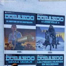 Cómics: DURANGO COMPLETA - 4 EJEMPLARES - NUEVOS - 1989 GRIJALBO - DARGAUD - YVES SWOLFS. Lote 212222851
