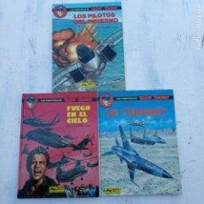Cómics: BUCK DANNY NºS 42,43,44 - NUEVOS - 1989 - 1990 -GRIJALBO - FRANCIS BERGÉSE. Lote 212223057