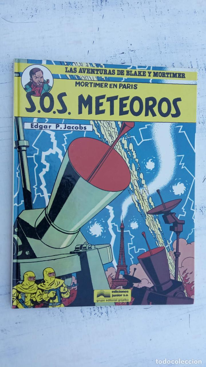Cómics: LAS AVENTURAS DE BLAKE Y MORTIMER Nº 5 - 1986EDICIONES JUNIOR - GRIJALBO - EDGAR P. JACOB - Foto 2 - 212223272