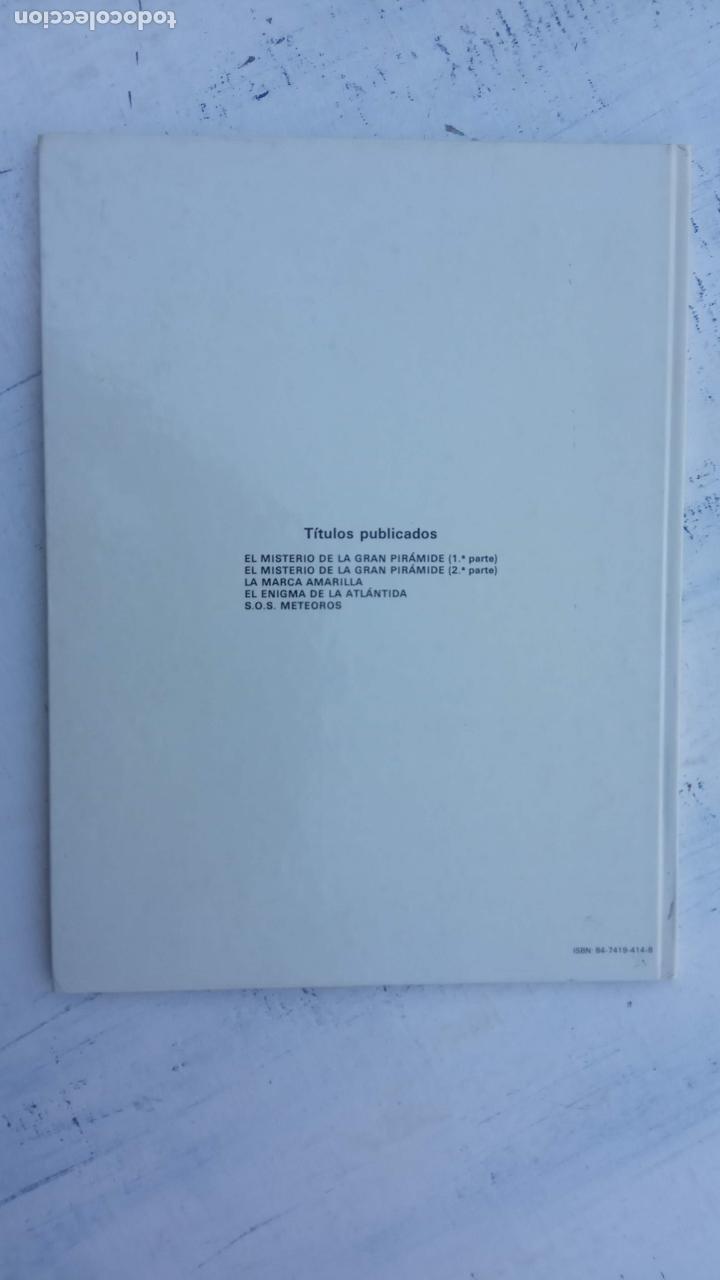 Cómics: LAS AVENTURAS DE BLAKE Y MORTIMER Nº 5 - 1986EDICIONES JUNIOR - GRIJALBO - EDGAR P. JACOB - Foto 4 - 212223272