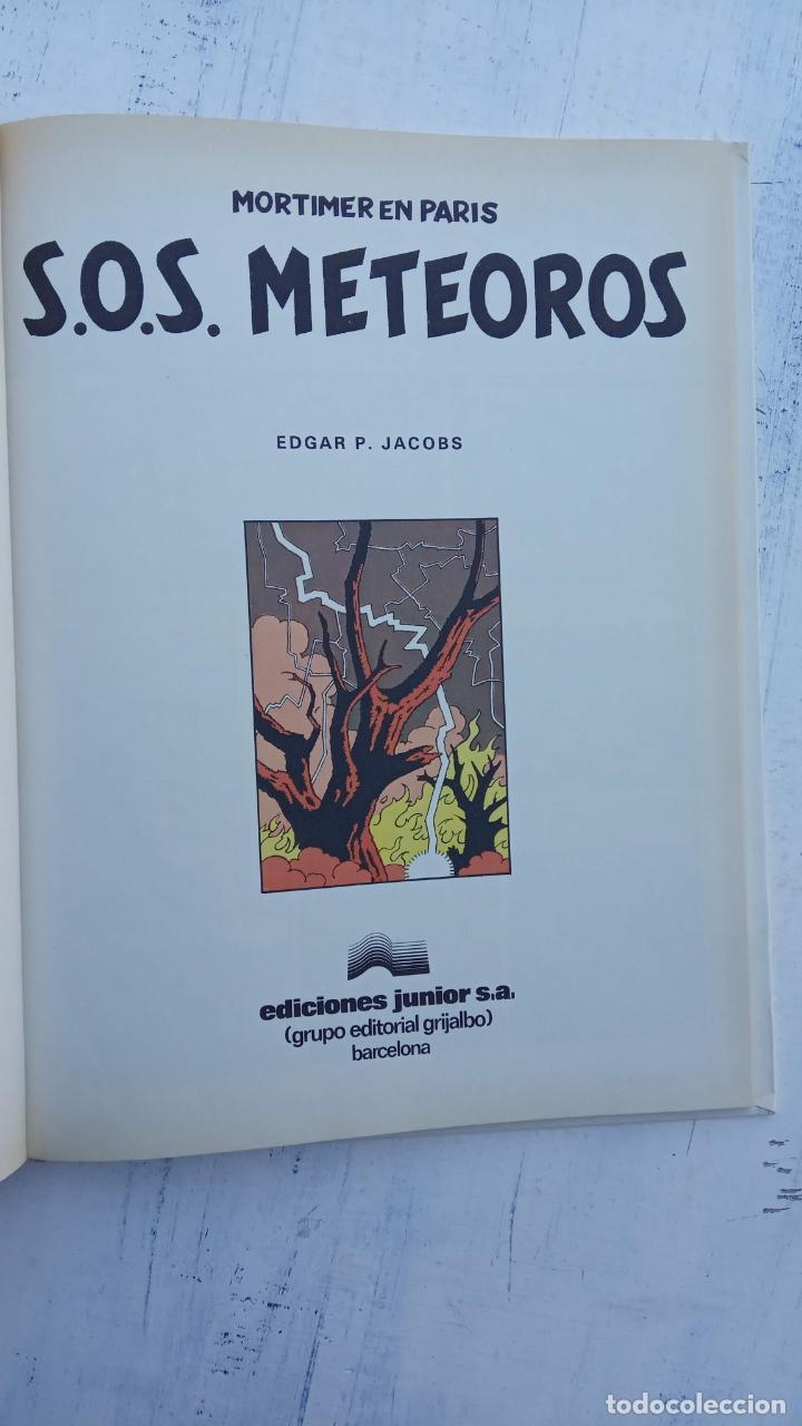 Cómics: LAS AVENTURAS DE BLAKE Y MORTIMER Nº 5 - 1986EDICIONES JUNIOR - GRIJALBO - EDGAR P. JACOB - Foto 5 - 212223272