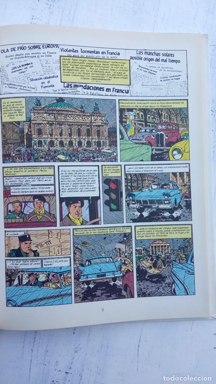 Cómics: LAS AVENTURAS DE BLAKE Y MORTIMER Nº 5 - 1986EDICIONES JUNIOR - GRIJALBO - EDGAR P. JACOB - Foto 6 - 212223272