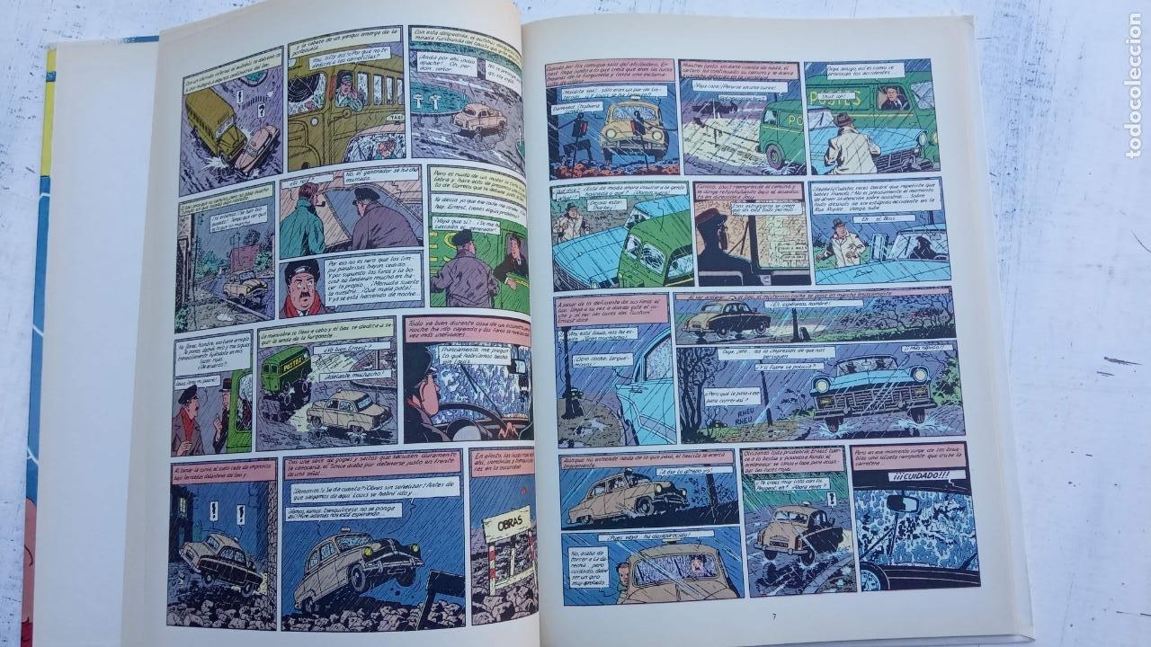 Cómics: LAS AVENTURAS DE BLAKE Y MORTIMER Nº 5 - 1986EDICIONES JUNIOR - GRIJALBO - EDGAR P. JACOB - Foto 7 - 212223272